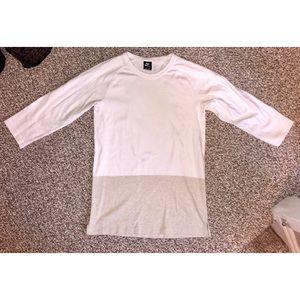 Nike Colorblock Baseball T-Shirt, Men's Size SMALL